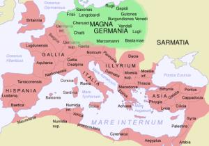 Romarriket vit tiden för Jerusalems förstöring